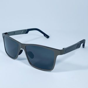 Men's polarized aluminum sunglasses